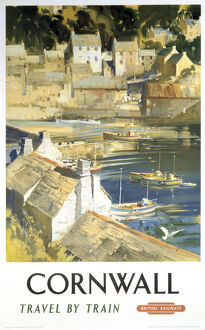 'Cornwall', BR poster, 1948-1965.