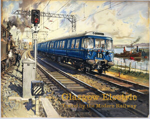 'Glasgow Electric', BR (ScR) poster, c 1960