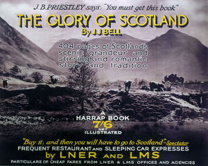 The Glory of Scotland', LNER poster, 1923-1947.