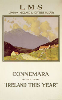 'Ireland this Year', LMS poster, 1923-1947