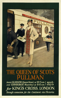 The Queen of Scots', Pullman Company poster, 1923-1947.