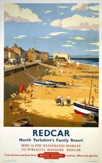 'Redcar', BR poster, 1958.