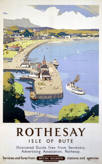 'Rothesay', BR poster, 1948-1960.