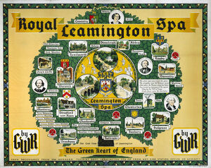 'Royal Leamington Spa', GWR poster, 1933.