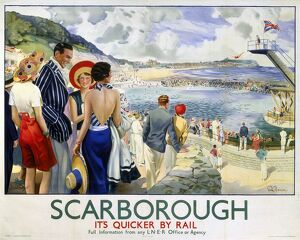 'Scarborough', LNER poster, 1930s.
