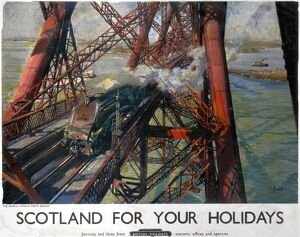 'Scotland For Your Holidays', BR poster, 1952