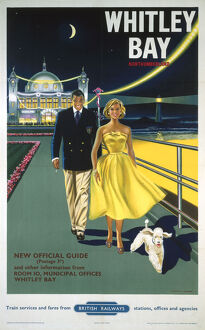 'Whitley Bay Northumberland', BR poster, 1958.